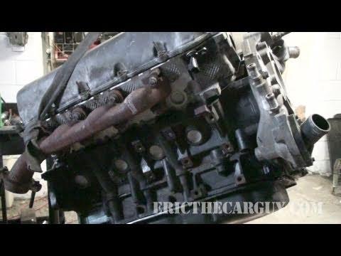 2002 Dodge Ram 1500 Engine Swap 47L Part 2 - EricTheCarGuy - YouTube