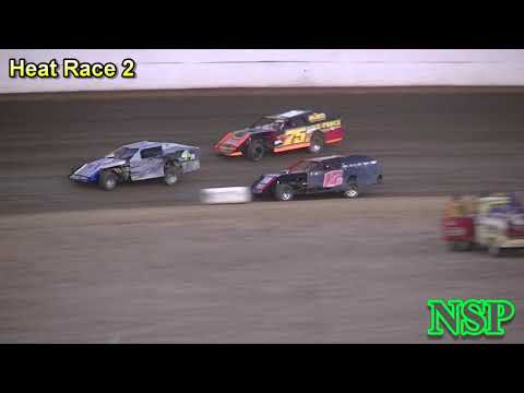 September 2, 2018 Modifieds Heat Races 1, 2, 3 & 4 Grays Harbor Raceway