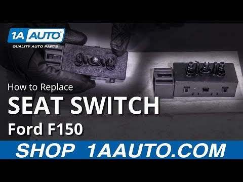 How to Replace Seat Switch 09-14 Ford F150