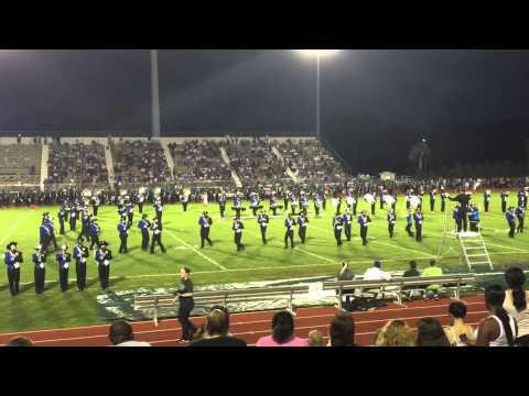 Matanzas High School Band of Pirates halftime opener