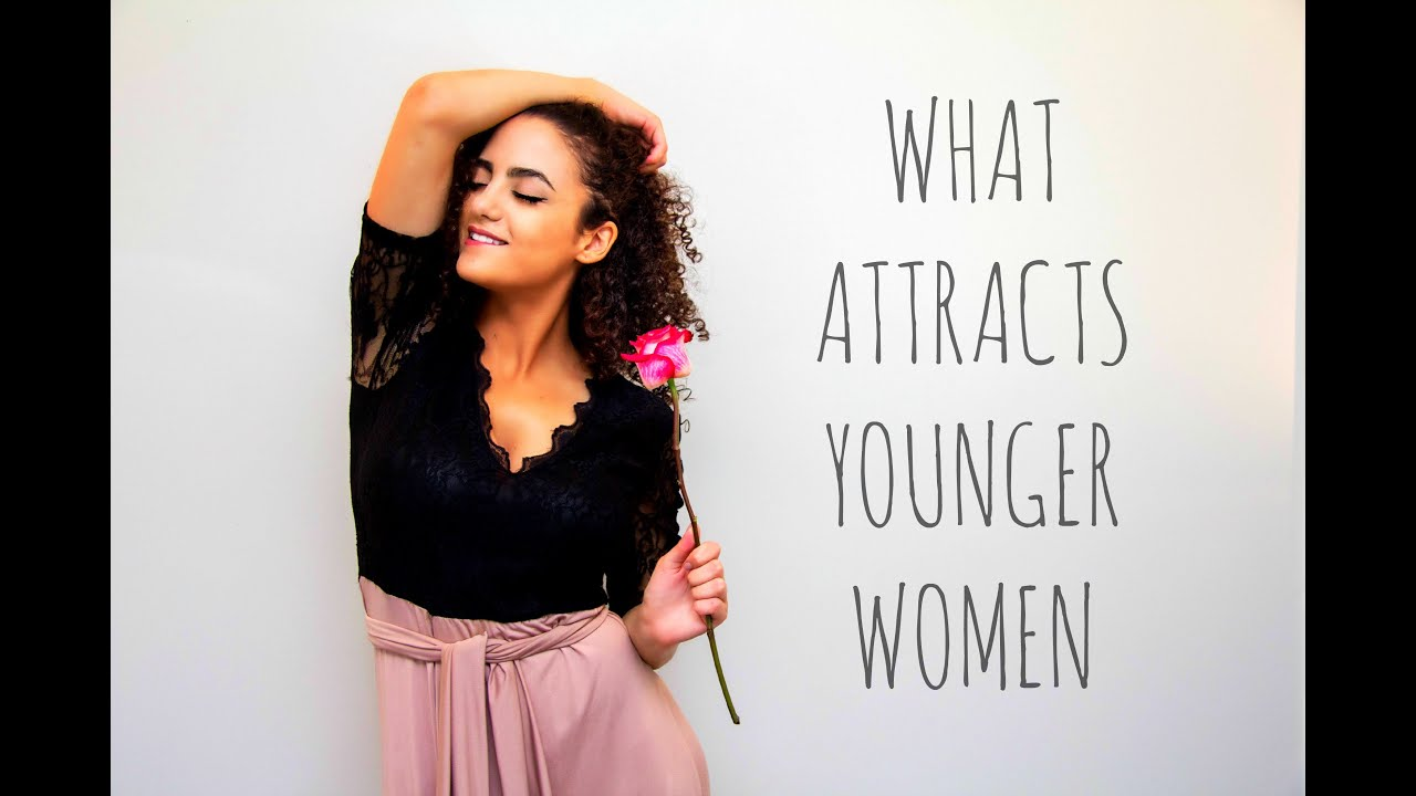 What attracts women to older men