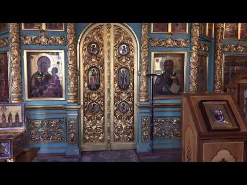 Обретение мощей Прпд Давида Серпуховского Престольный праздник Всенощное бдение