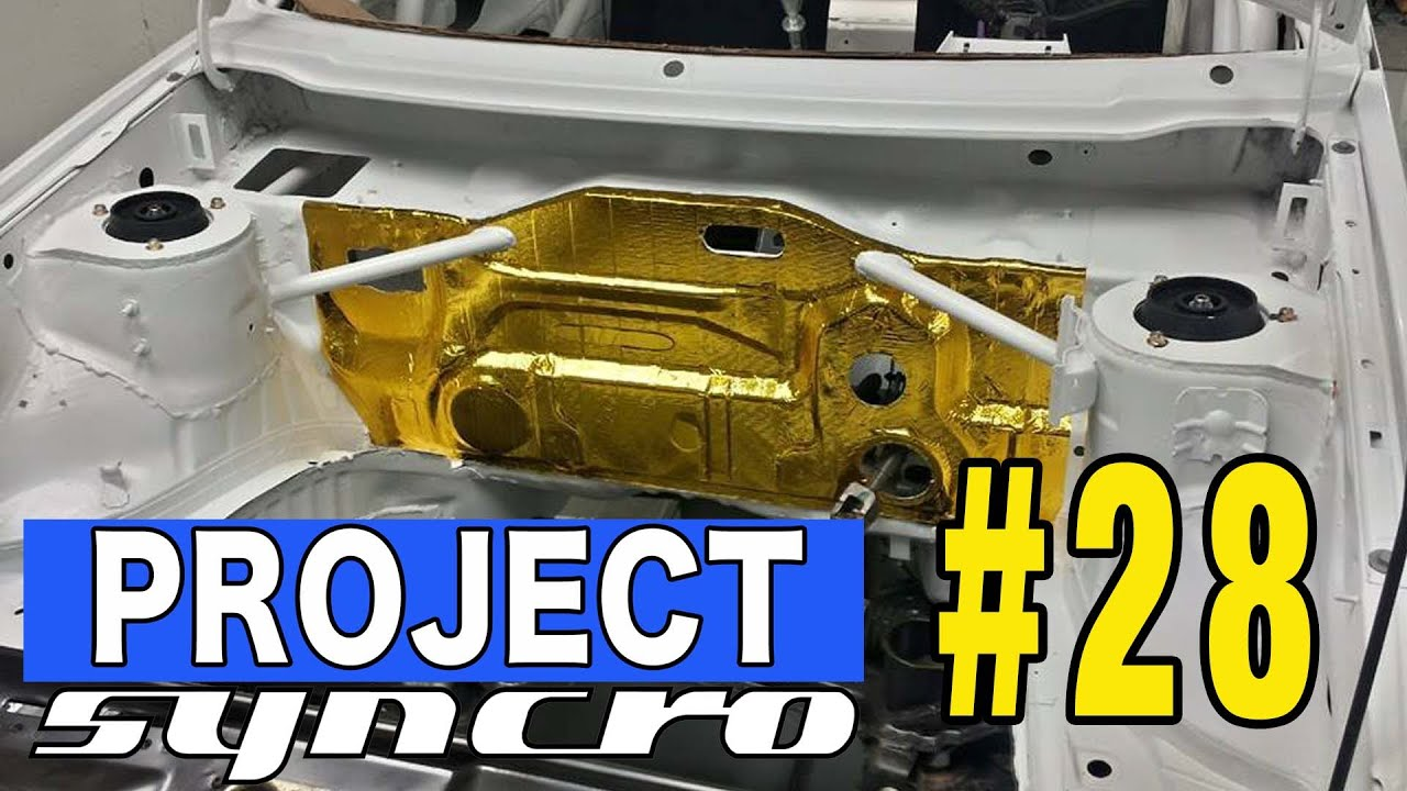 Gold Tape And Hood Pins Project Syncro 28 Youtube