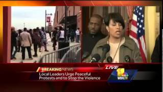Baltimore Mayor: We 'Gave Those Who Wished to Destroy Space to Do That'