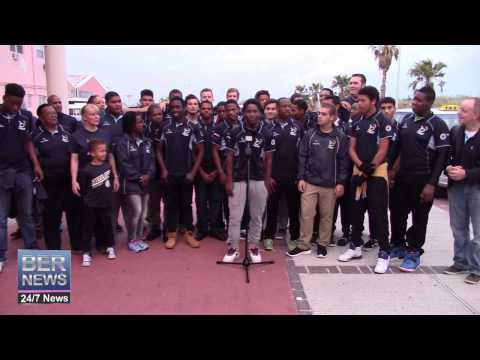 Under 17 Rugby Squad Return Home, April 1 2015