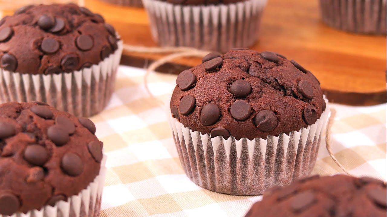 Muffins de chocolate f ciles y deliciosos youtube for Youtube cocina para todos
