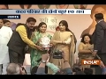 UP Elections 2017: Dimple Yadav and Aparna Yadav Joint Public Meeting in Lucknow