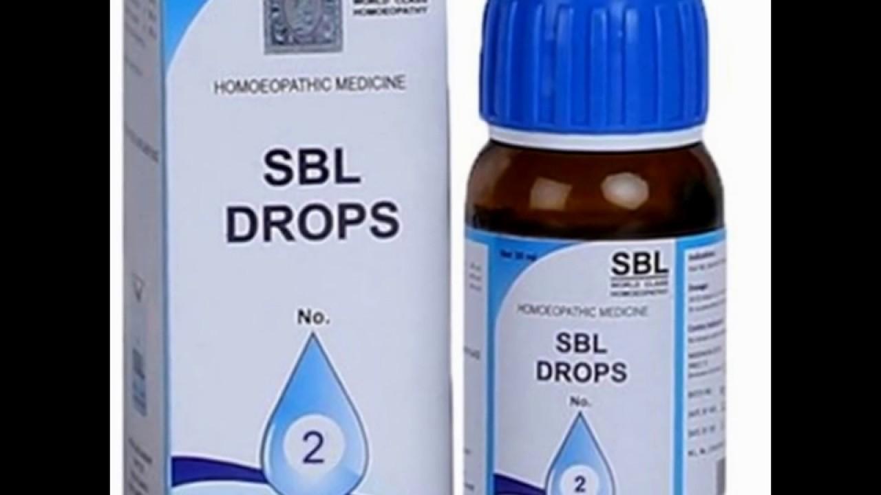 SBL Drops No 2 Dysmenorrhoea - YouTube