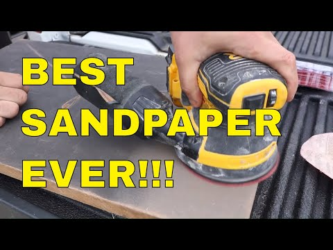 THIS IS THE BEST SANDPAPER FOR WOOD! I put this sandpaper to the test and it past.