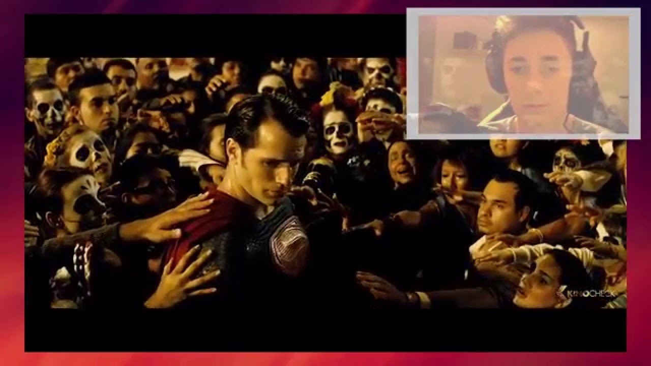 BATMAN VS SUPERMAN: Dawn Of Justice Final Trailer (2016) + REACTION [German]