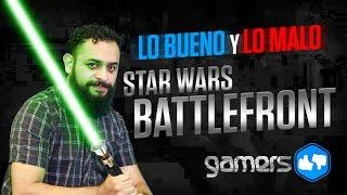 Lo Bueno y Lo Malo de Star Wars: Battlefront
