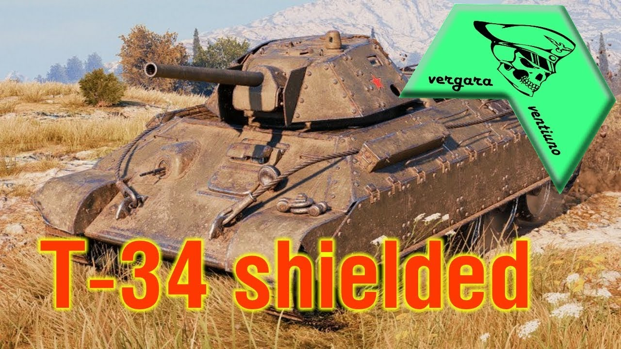 WORLD OF TANKS | T-34 shielded | REVIEW - YouTube