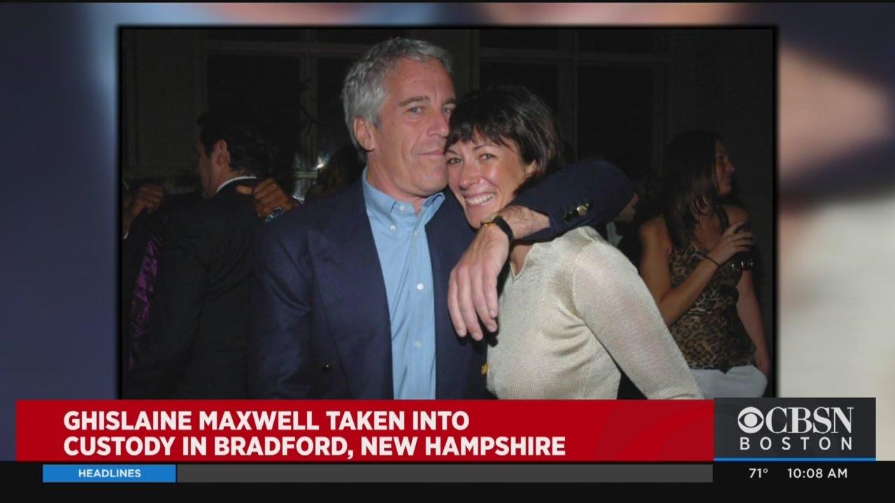 Jeffrey Epstein Associate Ghislaine Maxwell Arrested In Bradford, New Hampshire
