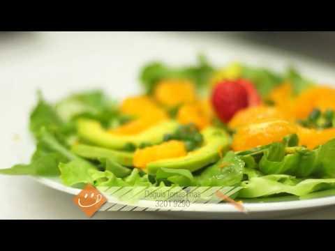 PROGRAMA PORTFÓLIO- Receita Daguia- Salada De Abacate Com Tangerina