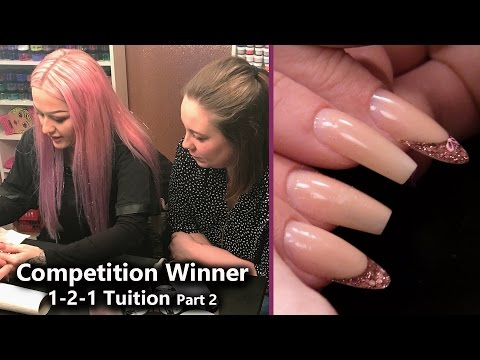 1-2-1 Nail Tuition with Kirsty Meakin  - Part 2 - #InBedWithKirsty Competition Winner