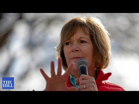 Sen. Tina Smith TOUTS clean energy tax credits, as part of reconciliation bill