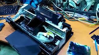 Epson disassemble uchun qanday qo'llanma C110 (bosma rahbarlari tozalash)Stylus