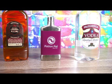 The Magic Flask Review! Makes CHEAP Liquor Taste Better?????