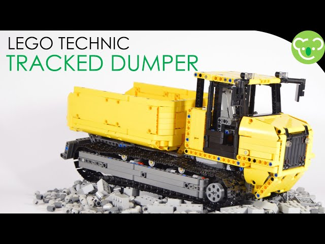 Tracked Dumper - LEGO Technic MOC powered by Buwizz