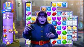 Wonka's World of Candy Level 247 - NO BOOSTERS + FULL STORY ???? | SKILLGAMING ✔️