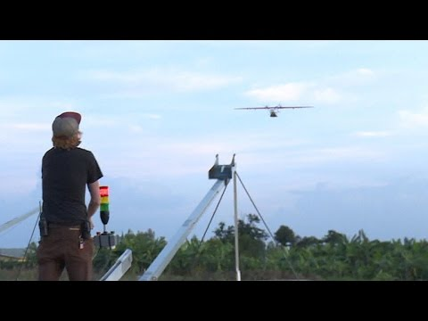 Silicon Valley engineers use drones to deliver medical help in Rwanda
