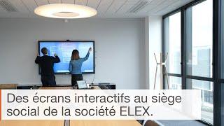 Utilisation de l'écran interactif en entreprise : le cas Elex