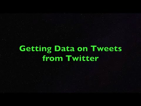 Getting Tweets, Trends, And User Timeline From Twitter Using R