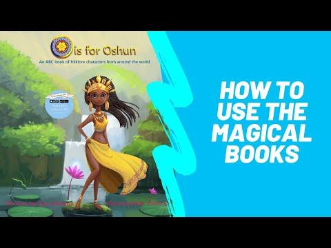 How to use the Magical RainbowMe Kids 4D books.