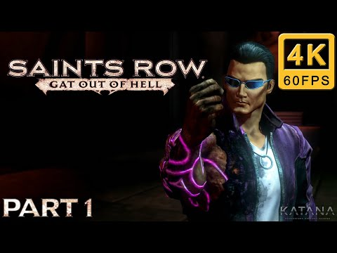 Saints Row: Gat out of Hell Walkthrough   Part 1   Hardcore   Welcome to Hell  