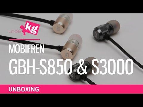 MobiFren GBH-S850 & S3000 Series Unboxing [4K]