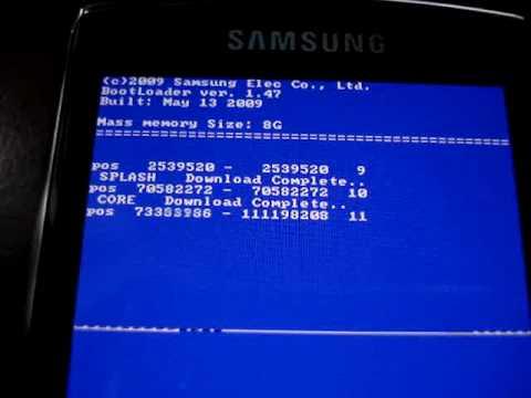 OMNIA i8910 HD flash