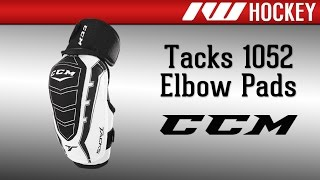 ccm 1052 tacks elbow pads review