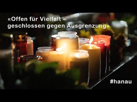 Gedenkgottesdienst am 21.02.2021 für die Opfer von Hanau
