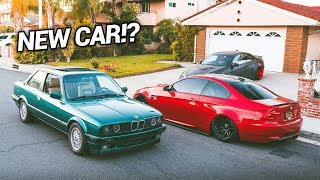 NEW CAR ADDED TO THE GARAGE!! (BMW E30 M3)
