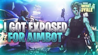 MY STREAM THOUGHT I HAD AIMBOT AFTER THIS!!! ~ FORTNITE BATTLE ROYALE