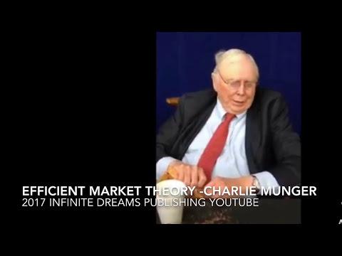 Efficient Market Theory - Charlie Munger Interview 2017