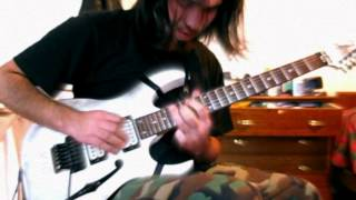 Audioslave - Like a Stone(Guitar solo Cover)