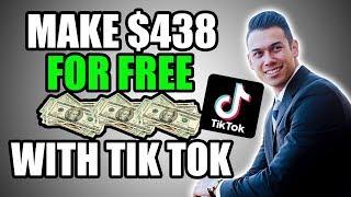 EARN $438 Per Day Using TikTok (Make Money Online App For Free With Tik Tok)