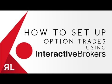 How to Set up Option Trades using Interactive Brokers