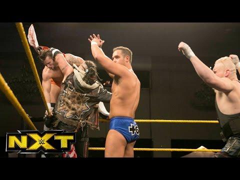 TM-61 vs. SAnitY — Dusty Rhodes Classic Semifinal Match: WWE NXT, Nov. 9, 2016