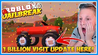 🔴ROBLOX JAILBREAK NEW UPDATE HERE | FREE JAILBREAK CASH! | Roblox Live Stream | Come Join! 😃