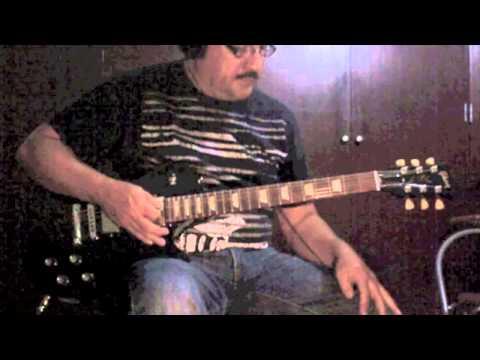 Evil Ways - Santana - guitar cover piri