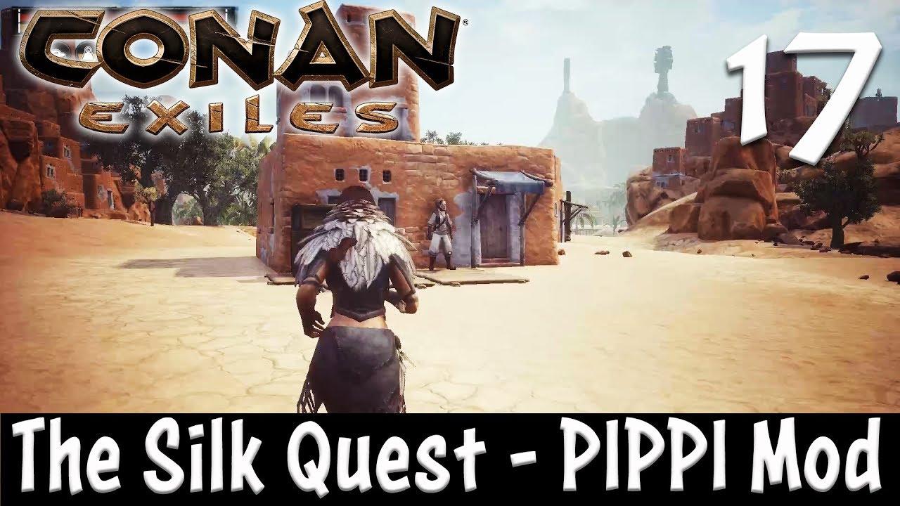 THE SILK QUEST - Conan Exiles #17 (Season 3)