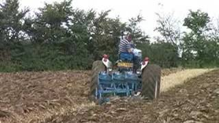 Classic tractors at Power in Action 2007