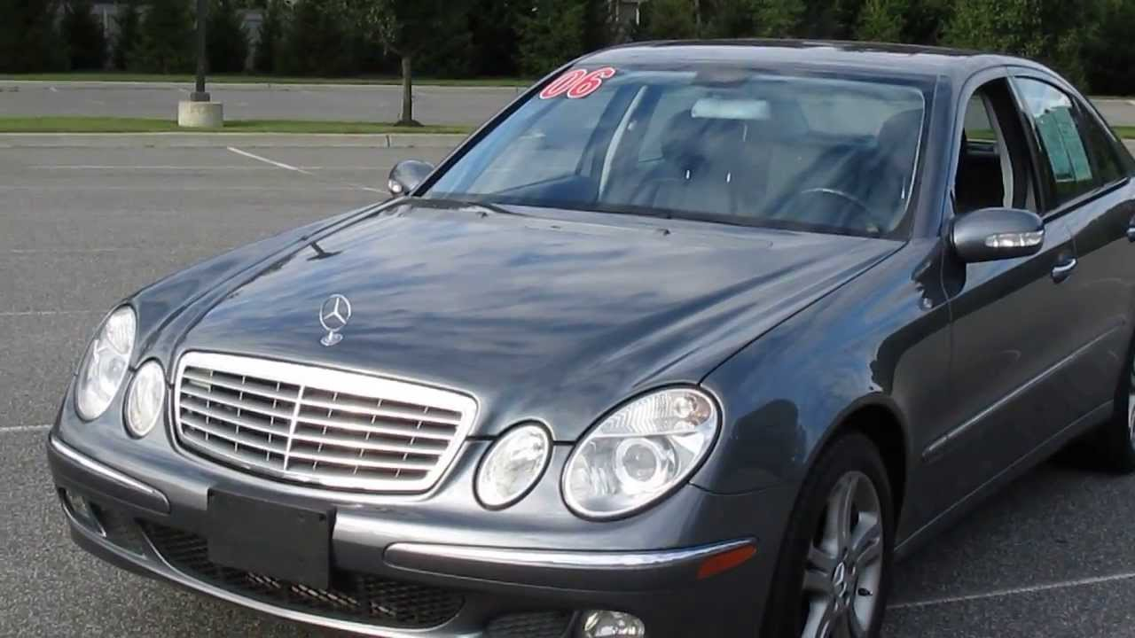 2006 mercedes e350 4matic for sale youtube. Black Bedroom Furniture Sets. Home Design Ideas