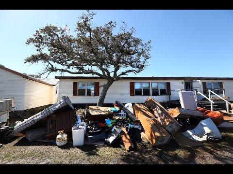 Commissioner discusses flooding in Hatteras Village
