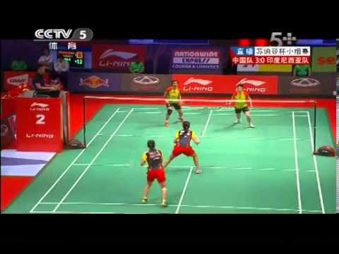 【2013 Sudirman cup 】GROUP 1A Yuyang/Wang xiao li(CHN)VSPolii Greysia/Maheswari Nitya Krishinda(INA)