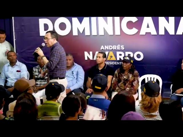 ANDRÉS NAVARRO FORTALECERÁ PROGRAMA DE APOYO A LOS EMPRENDEDORES Y MICROPRODUCTORES.