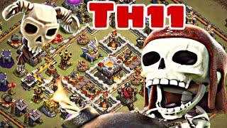 NEW TH11 TROLL WAR BASE LAYOUT 2018 w/PROOF | BEST TH11 ANTI 2 STAR WAR BASE | Clash of Clans