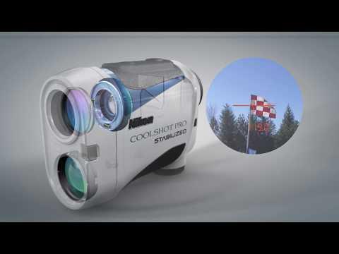 Nikon COOLSHOT PRO STABILIZED 雷射測距望遠鏡 突破性的影像穩定技術 小巧輕便且防霧防水